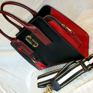 Black and red Marc Jacobs purse
